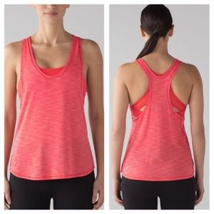 Lululemon Glide and Stride Tank-Alarming